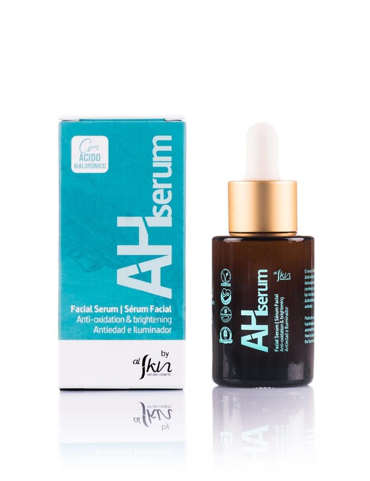 Alskin, AHSerum antiedad e ilumniador con ácido hialurónico