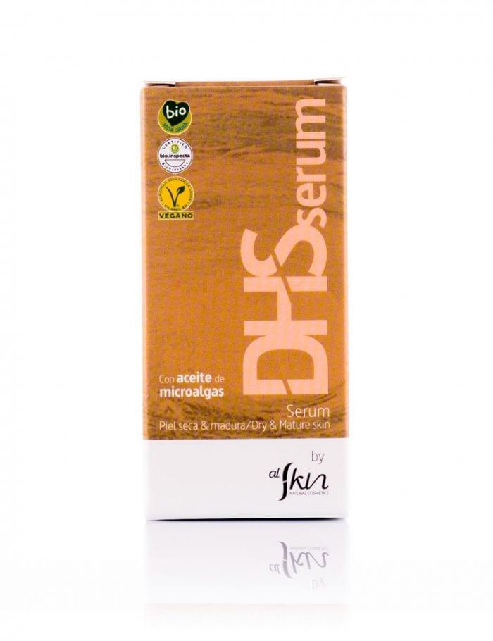 DHSerum, serum con microlagas, pieles sensibles y maduras