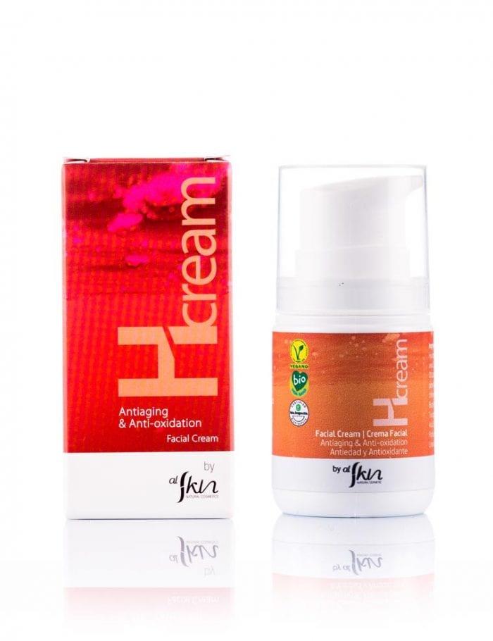 Alskin, crema Hcream antiaging y antioxidacion con microalgas