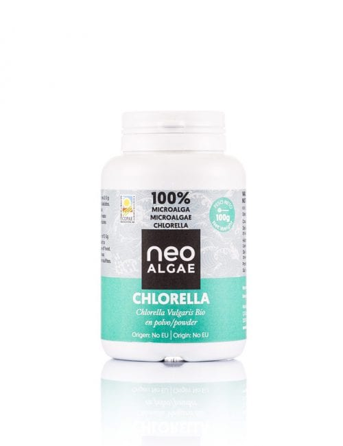 Complementos alimenticios, Chlorella en polvo