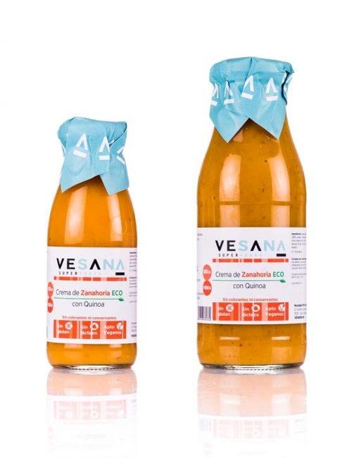Vesana, Crema de Zanahoria ECO con Quinoa