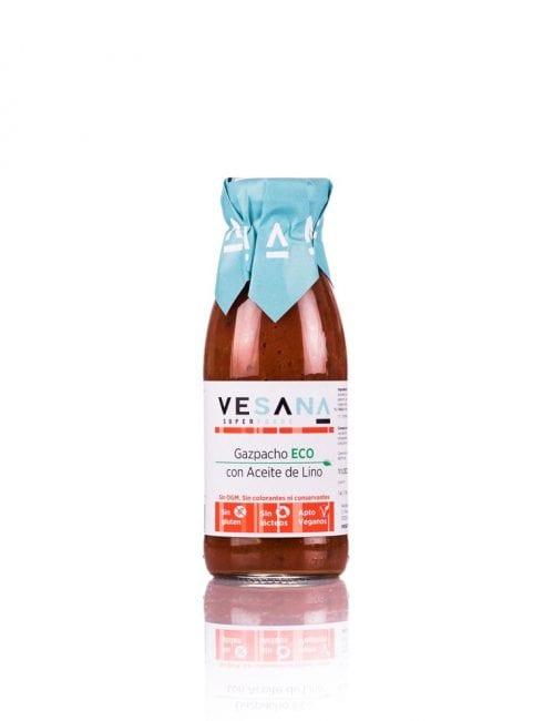 Vesana, Gazpacho ECO con aceite de lino