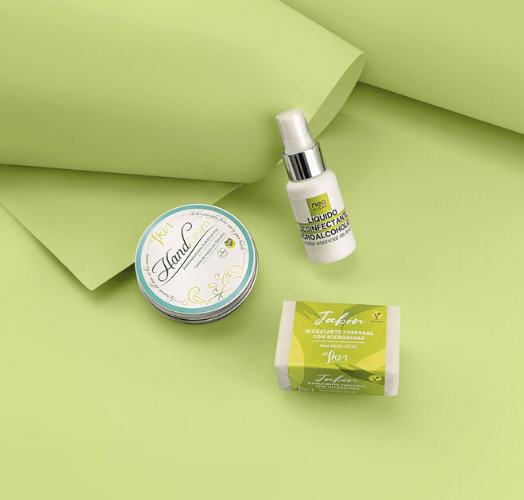 productos Alskin, la marca de cosmética natural de neoalgae