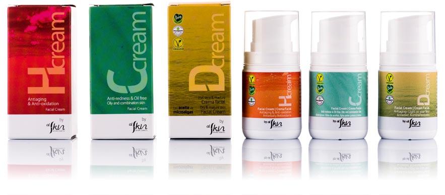 Al Skin, creams